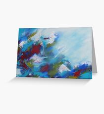 Flow of Nature Greeting Card