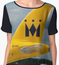 Monarch Airlines Airbus A321 tail livery Chiffon Top