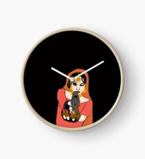Angry Dulhan  Clock