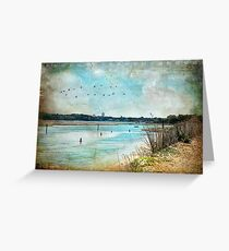 Turquoise Serenity Greeting Card
