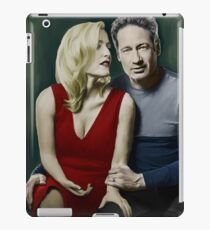 Gillian Anderson and David Duchovny iPad Case/Skin