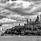 Parliament Hill Across The River by datagod