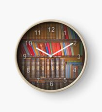 Vintage Books Clock