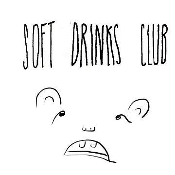 Soft Drinks Club (Weird Bear) by SOFTDRINKSCLUB