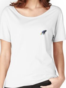 Pug Rainbow Women's Relaxed Fit T-Shirt