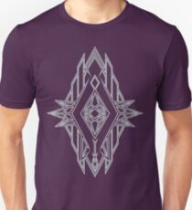 Abstract Triangle Art Pattern T-Shirt