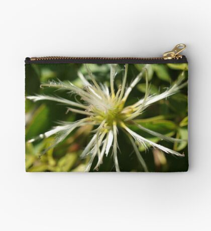 Clematis in the Wild (3) Studio Pouch