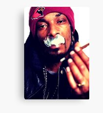 Snoop dogg smoking weed Canvas Print