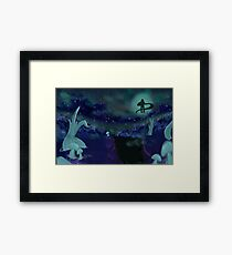 Land of Wind of Shade Framed Print