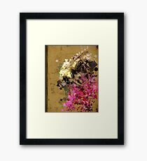 Bumbly Bee Framed Print
