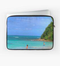 Beach in Antigua Laptop Sleeve