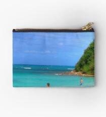 Beach in Antigua Studio Pouch