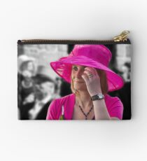 Standing Out From The Crowd ~ Helston Flora Day Studio Pouch