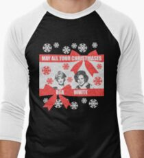 May all your christmases Men's Baseball ¾ T-Shirt