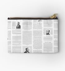 The Free Market Journal Studio Pouch
