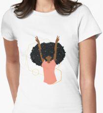 Hair Goals Women's Fitted T-Shirt
