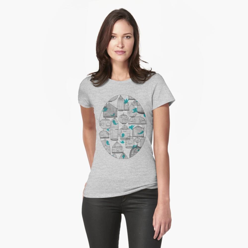 CHIRP! CHIRP! (light) Womens T-Shirt Front