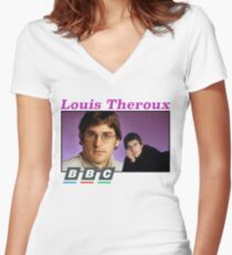 Louis Theroux x BBC Women's Fitted V-Neck T-Shirt