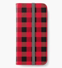 Buffalo plaid iPhone Wallet/Case/Skin