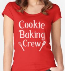 Cookie Baking Crew Women's Fitted Scoop T-Shirt
