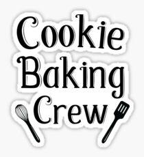 Cookie Baking Crew Sticker