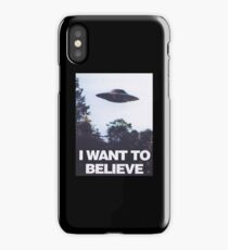 The X-Files I Want To Believe iPhone Case/Skin