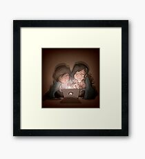 Roommates~ Framed Print