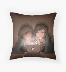 Roommates~ Throw Pillow