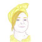 Self Portrait Turban by Lael Woodham