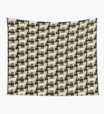 Crazy Chihuahua lady Wall Tapestry