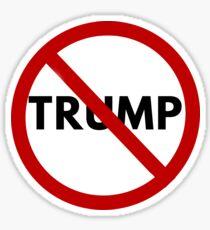 Anti-Trump - He's Not My President Sticker