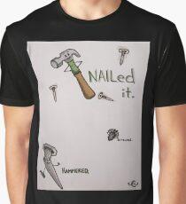Work Hard, Play Harder Graphic T-Shirt