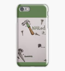 Work Hard, Play Harder iPhone Case/Skin