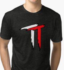 Toby Clements TT Red Tri-blend T-Shirt