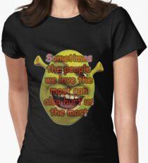 Shrek Women's Fitted T-Shirt