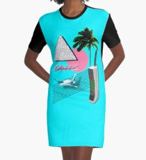 BUSINESS CLASS '84 COLLECTION Graphic T-Shirt Dress