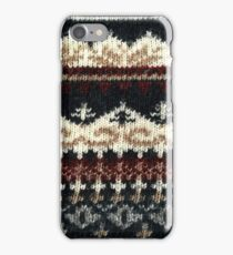 Vintage Sweater iPhone Case/Skin