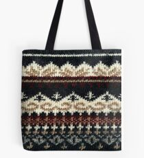 Vintage Sweater Tote Bag