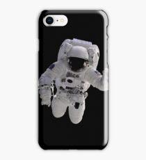 Astronaut on Black iPhone Case/Skin