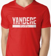 Yandere Men's V-Neck T-Shirt