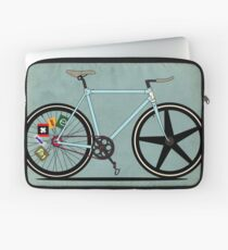 Fixie Bike Laptop Sleeve