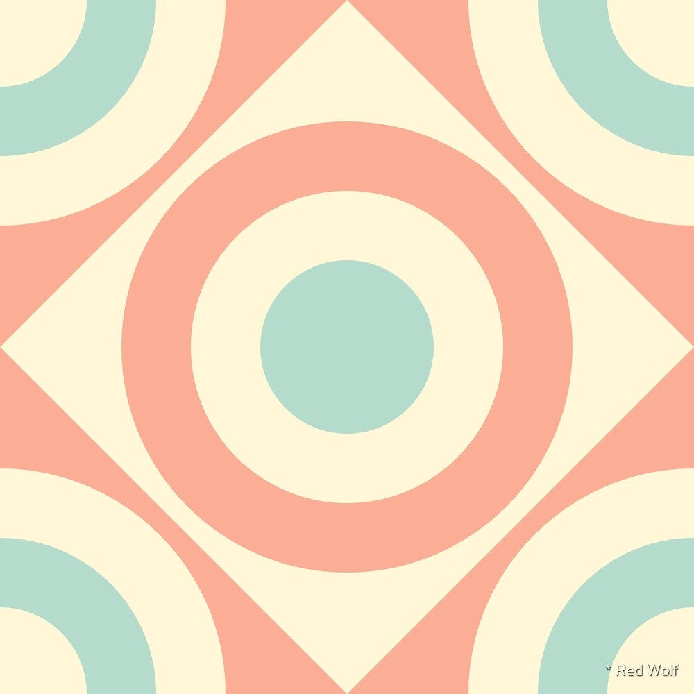 Geometric Pattern: Rondel Diamond: Babcock by * Red Wolf