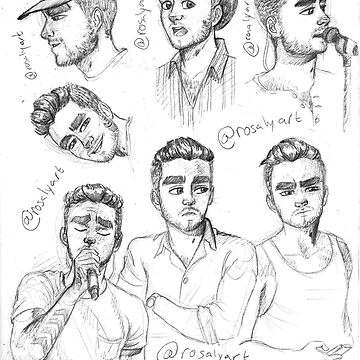 Sketches of my boy by jeanbeanart