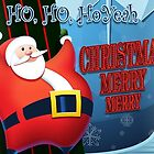 Christmas Merry Merry Santa Claus by Mike Cressy