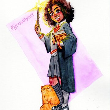 The best wizard in our year by jeanbeanart