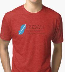 SSOWU LOGO COLOUR Tri-blend T-Shirt
