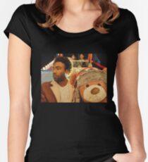 Childish Gambino  3005 Women's Fitted Scoop T-Shirt