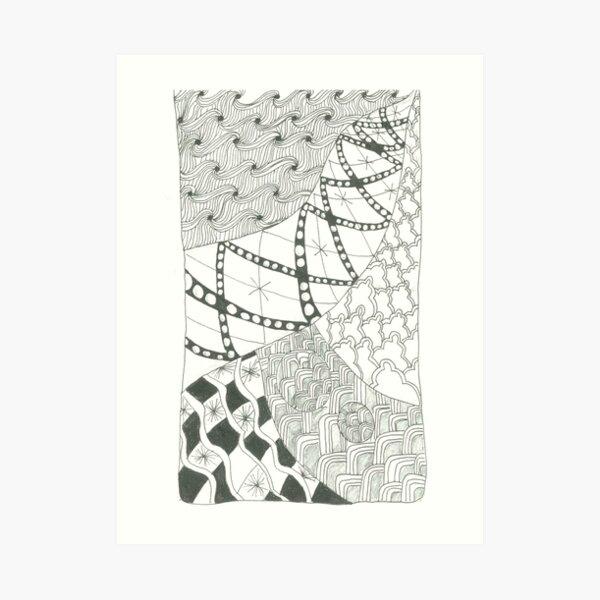 Mixit Patterns Art Print
