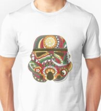 Vintage Psychedelic Storm Mask Unisex T-Shirt
