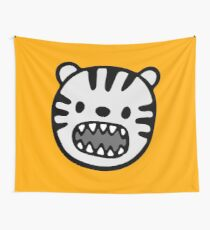 Smooth Rawr Lion Wall Tapestry